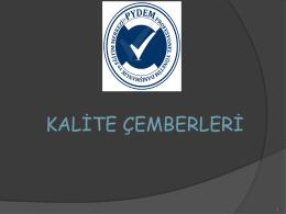 Kalite Çemberleri - Profesyönel Yönetim Danışmanlık ve Eğitim