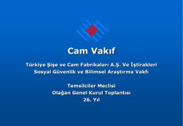 Slide 1 - Şişe Cam Vakfı | camvakif.org.tr