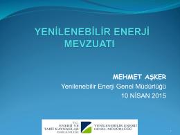 mehmet aşker - Solarex İstanbul