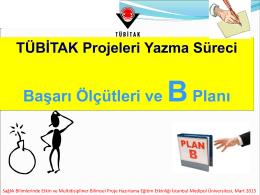 B Planı ve Risk Yönetimi