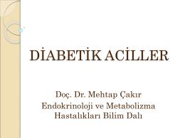 Diyabetik Aciller Sunumu