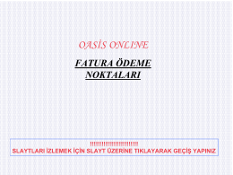OASİS ONLINE