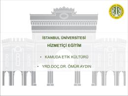 25 Mayıs 2015 Tarihinde Düzenlenen Kamuda