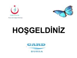 2015 GARD Kurul Sunumu - Bursa Halk Sağlığı Müdürlüğü