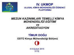 UKMOP 2015 Timur DOĞU