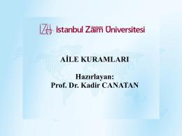 Aile Kuramları - Ahmet Emin Baysal