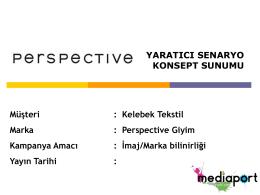 Perspective - Mehmet Salih Demirci