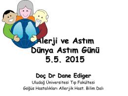 Allerji ve Astım Sunumu(1)