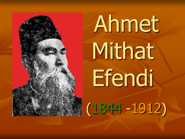 Ahmet Mithat Efendi (1844
