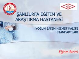 Dökümanı İndir - Şanlıurfa Mehmet Akif İnan Eğitim ve Araştırma