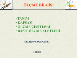 Olcme_1_hafta