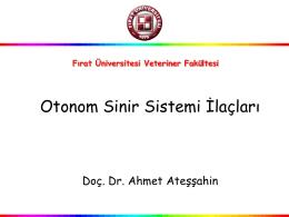 4.OSS Parasempatomimetikler