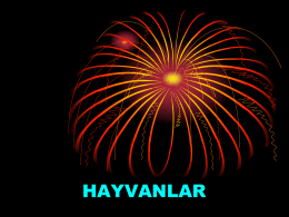 HAYVANLAR - Eodev.com
