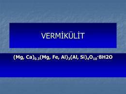 Vermikülit