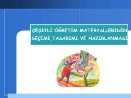4_hafta - Anadolu Üniversitesi
