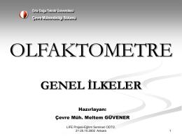 Olfaktometre