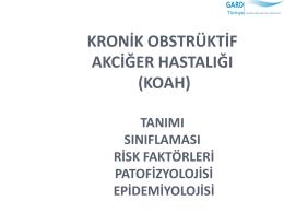 KOAH - Sağlık Bakanlığı