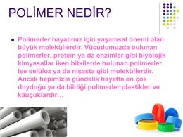 (Monomer) = Polimer