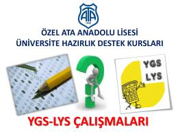 YGS - Ata Koleji