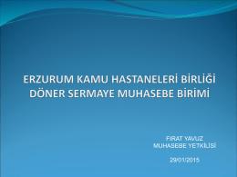 tıklayınız - Erzurum Kamu Hastaneleri Birliği Genel Sekreterliği