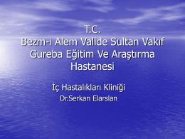 T.C. Bezm-i Alem Valide Sultan Vakıf Gureba Eğitim Ve Araştırma