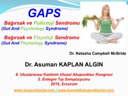 S2-GAPS (Bağırsak ve Psikoloji Sendromu)
