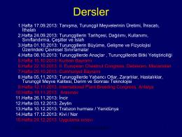 Turunçgiller Bölüm - Adnan Menderes Üniversitesi