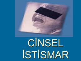 CİNSEL İSTİSMAR