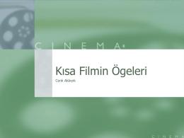 10. Kısa Film Ögeleri