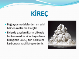 kireç - WordPress.com