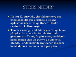 Stresle Baş Etme Yöntemleri - vali nevzat ayaz anadolu lisesi