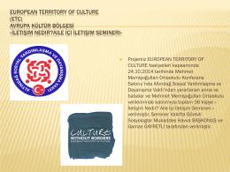 ETC İletişim semineri sunumu
