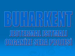 Organize Sera projesi