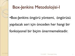 Box-Jenkins