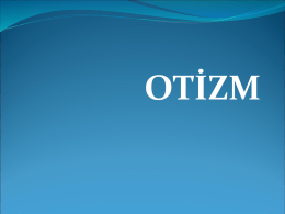 Otizm - Meb.k12.tr