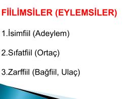 Türkçe Ders Dosyları 8. Sınıf