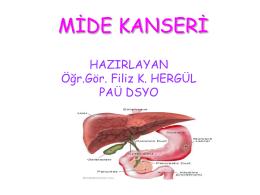 Subtotal gastrektomi