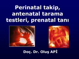 perinataltakipantenataltestlerprenataltanı