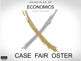 Principles of Economics, Case/Fair/Oster, 10e