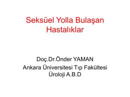 Slayt 1 - Prof. Dr. Önder Yaman