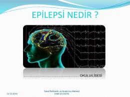 Epilepsi sunusu