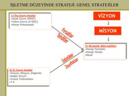 Genel Stratejiler