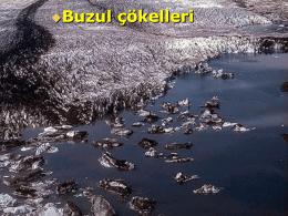 buzul çökelleri