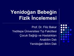 yenidoğan fizik inceleme