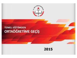 Teog 2015 tanıtım sunusu