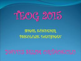teog 2015 öğrenci semineri