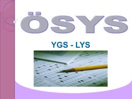 YGS - LYS - Meb.k12.tr