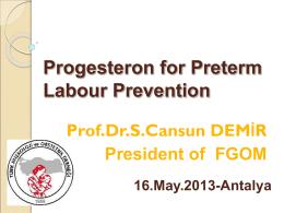progesteron-in-PTL