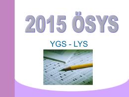 OSYM 2015