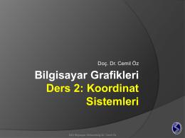 2B Polar Koordinat Sistemi
